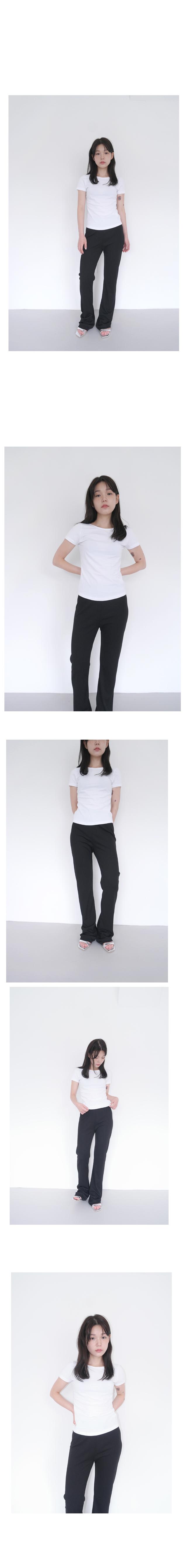 2 line simple middle heels