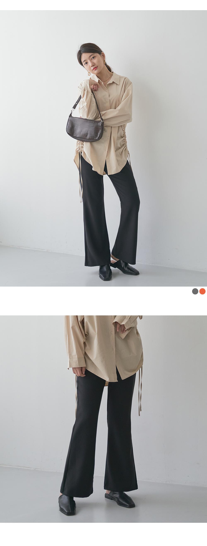 Hidden Banding Wide Pants Big Size 28-40 Inch