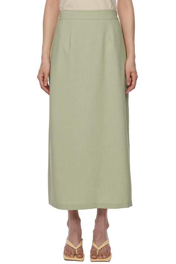 Sand Basic Long Skirt
