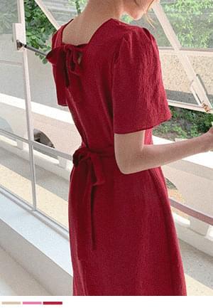 Wrap me with love ribbon Dress