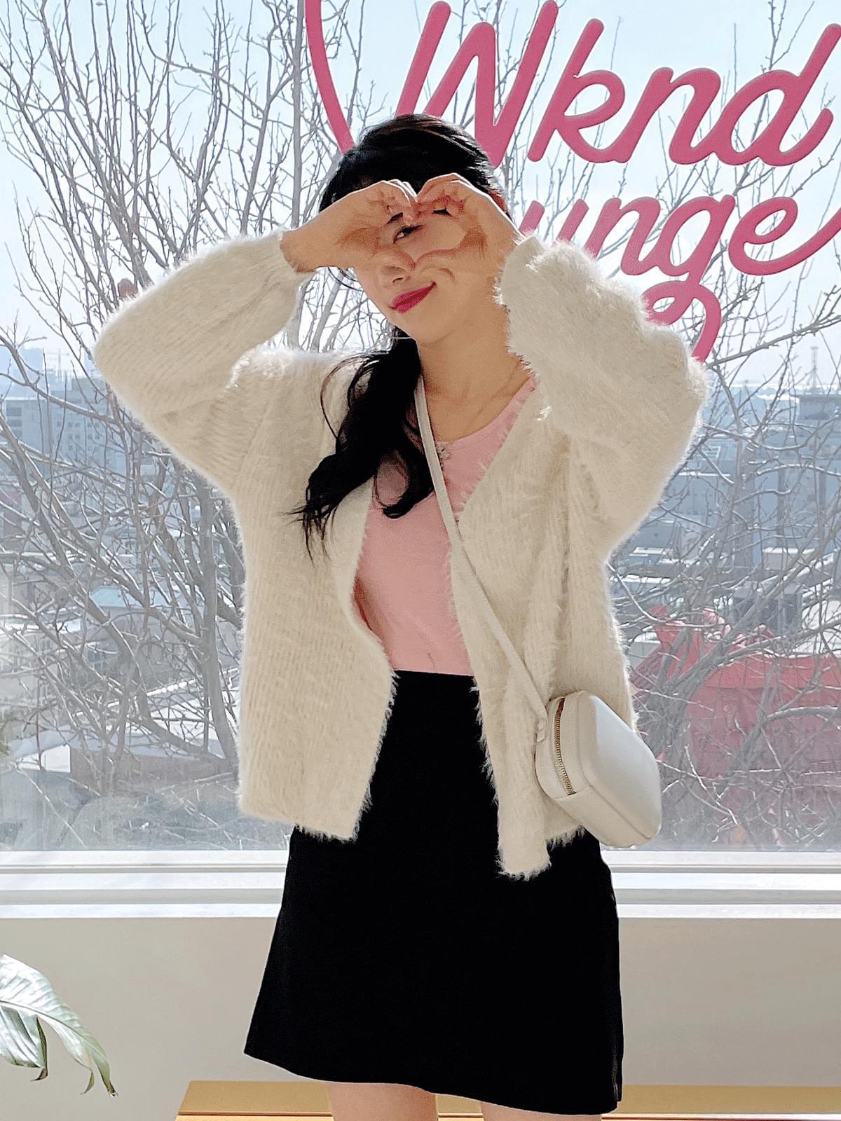 케이시 앙고라 가디건 (2color)