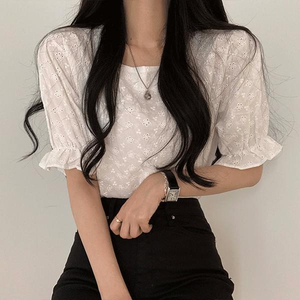 pure lace blouse