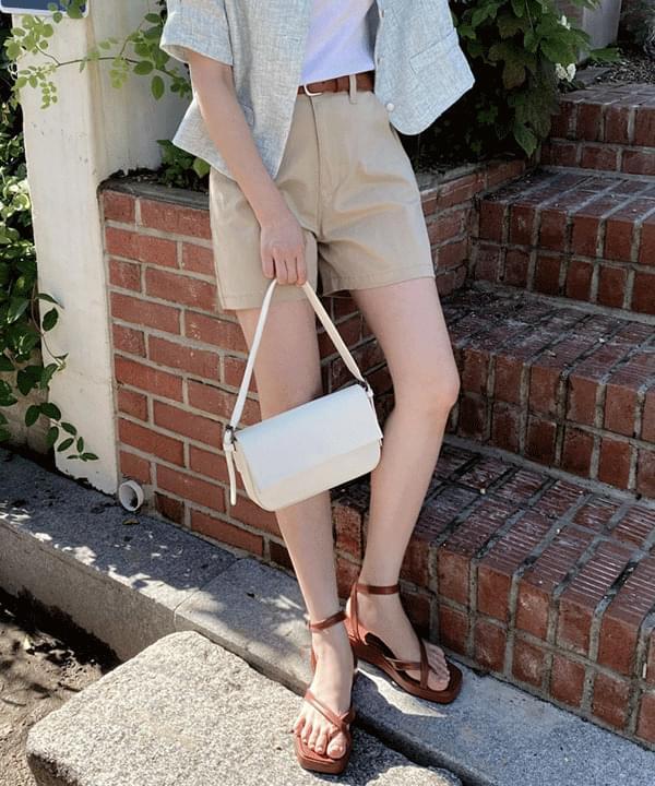 Lauren Basic Half Cotton Pants