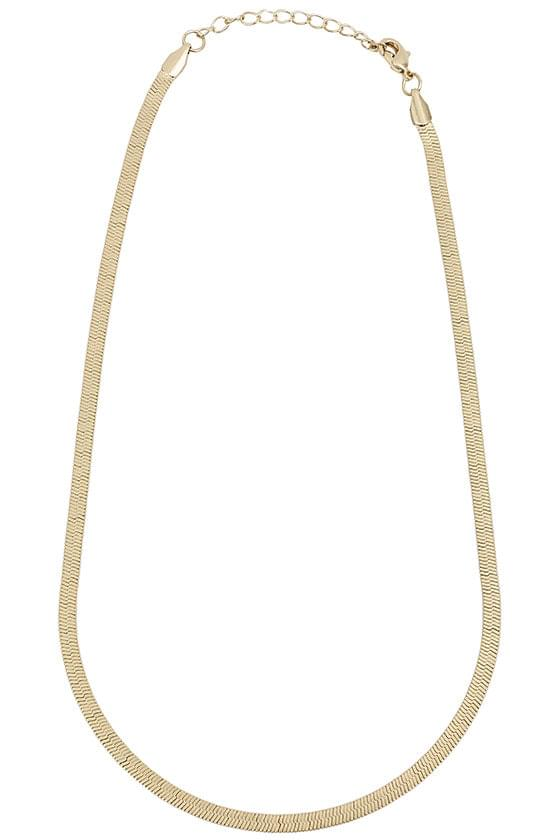 snake metal necklace