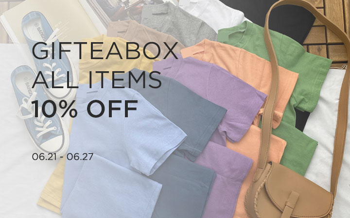 GIFTEABOX ALL ITEMS 10% OFF