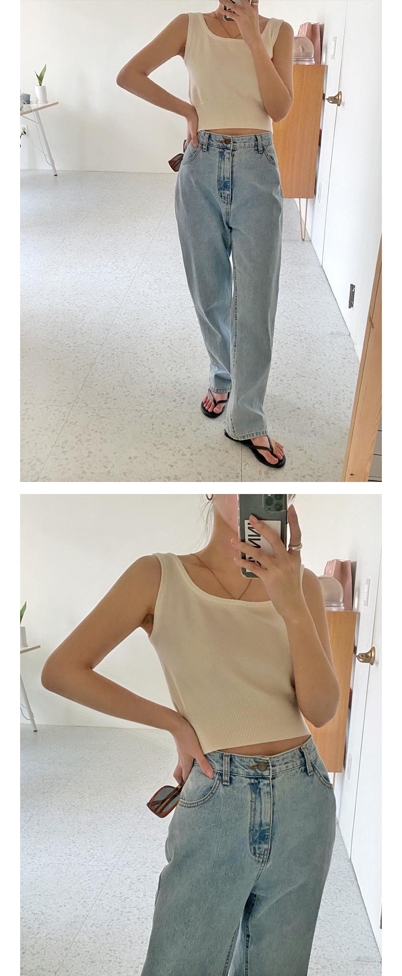 Cozy Crop Knitwear Sleeveless