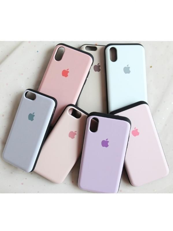 iPhoneスライドパステルカラーケース3