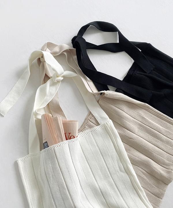 Strap Knitwear Shoulder Bag