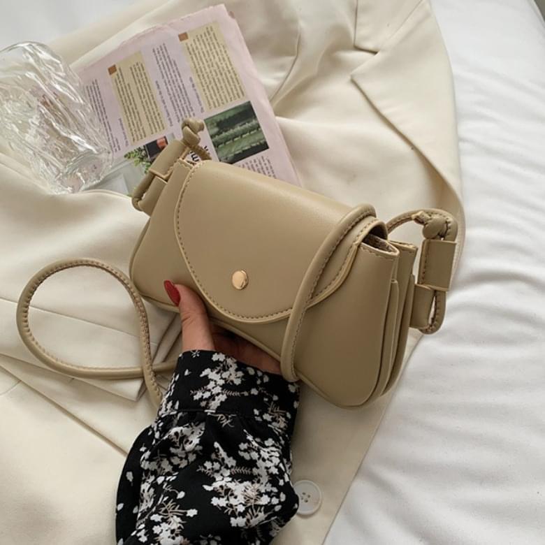 Soft Casual Mini Wave Shoulder Bag