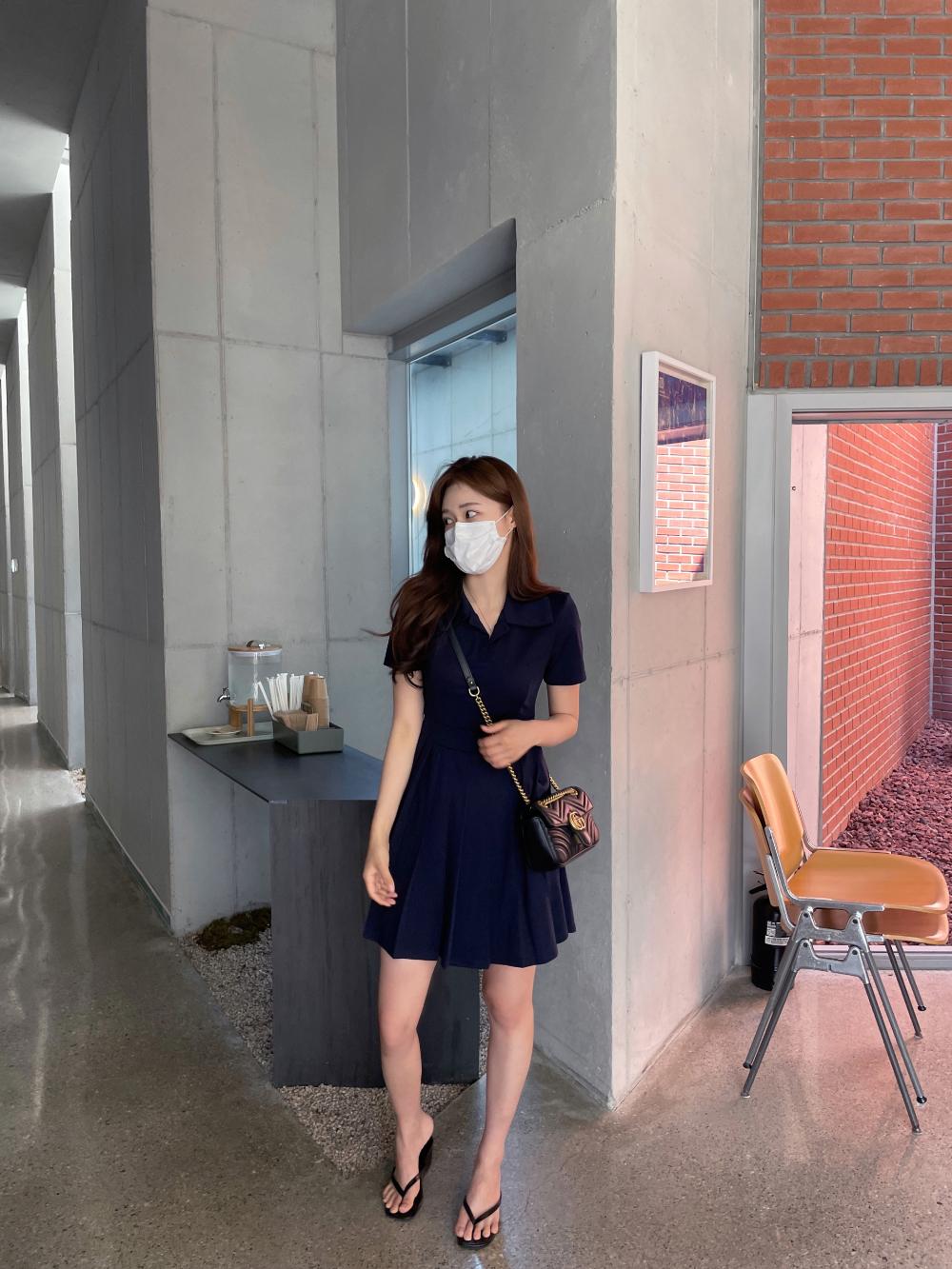 PK pleated Dress