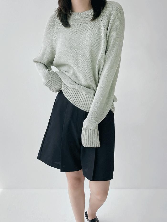 Tommy Linen Rouge Knitwear