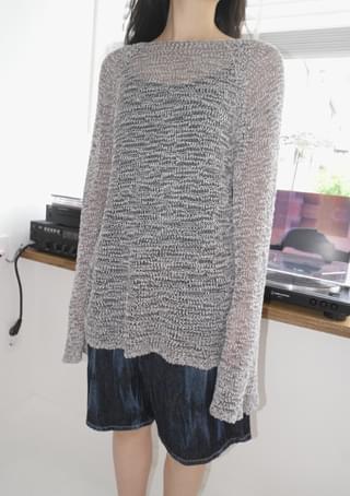 bell sleeve raglan drop knit