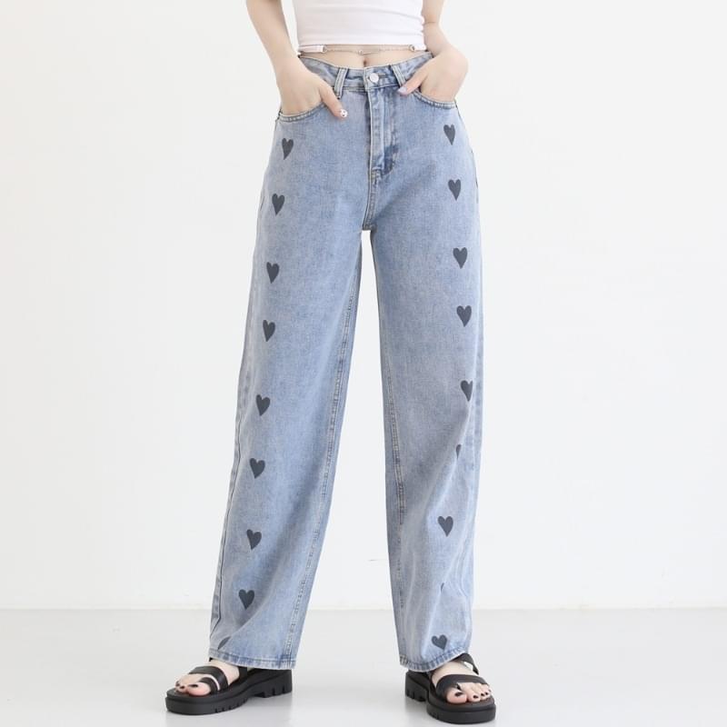 Jeffrey Hart Wide Denim Trousers