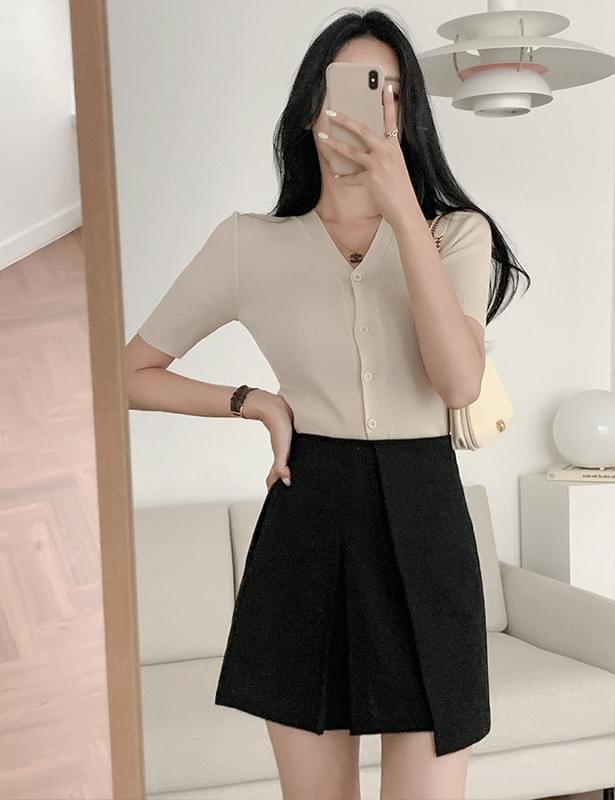 latie mini wrap skirt
