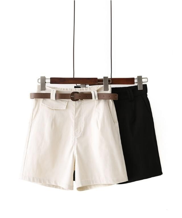 Big Size 28-40 Inch Pocket Belt Banding Shorts
