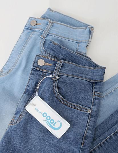 Micro Cool Skinny Denim Pants