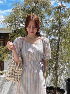 cocktail stripe Dress