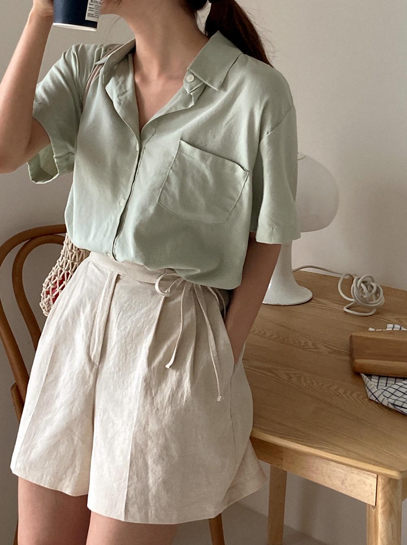 cube pocket shirt