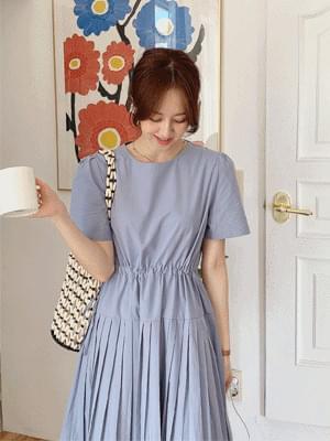 soda pleated Dress