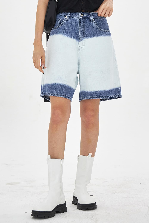 Discharge boy denim short Pants
