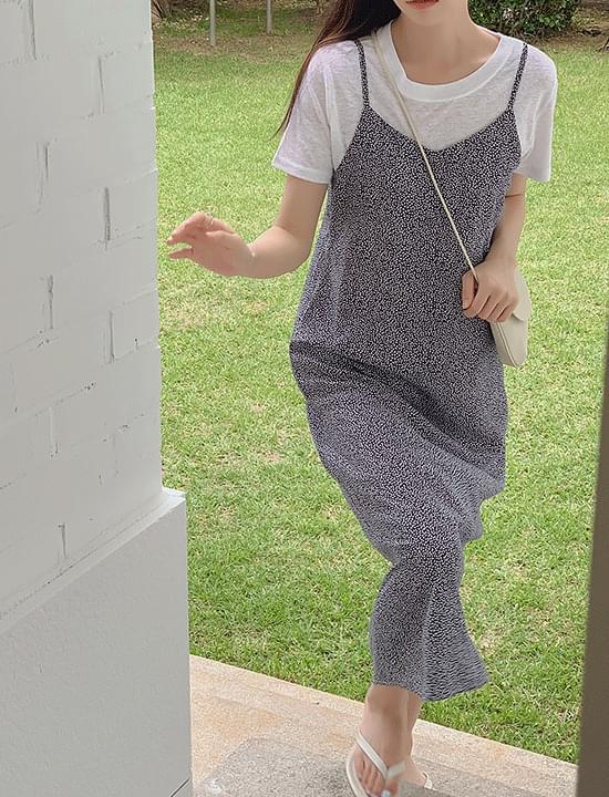 Rika Printed Sleeveless Dress