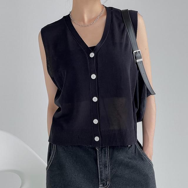 Days V-Neck summer vest