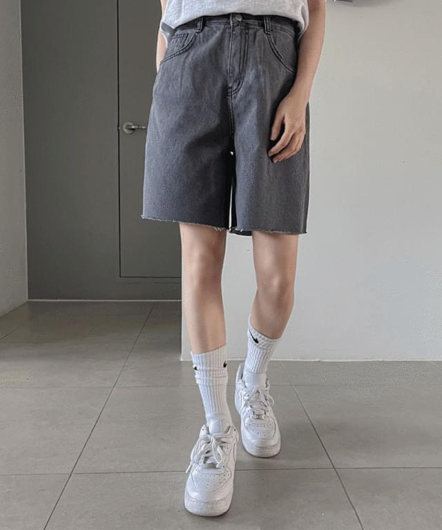 Ner Cut Part 5 Denim Short Pants
