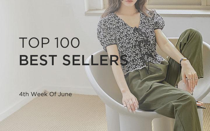 TOP 100 BEST SELLERS - 4th Week Of June
