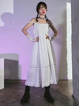 lace newel bustier Dress