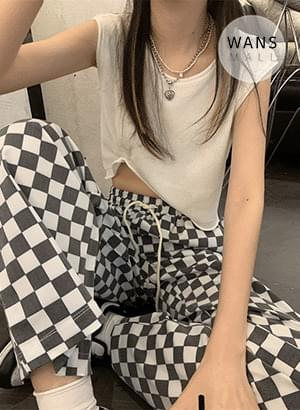 pt5008 Lexar Checkerboard Pants