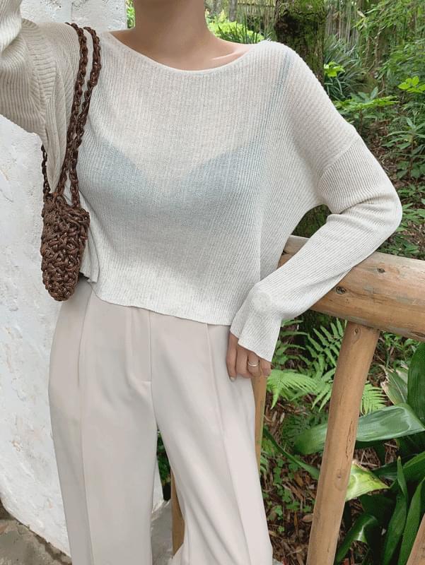 Roasted Ribbed Knitwear
