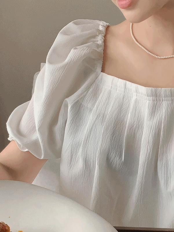honey pintucked blouse