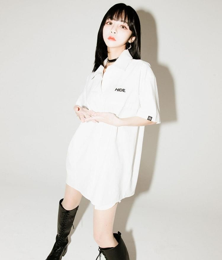 HIDEBoxy Button-Front Shirt