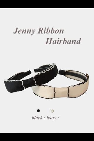 New 5% Jenny Ribbon Headband