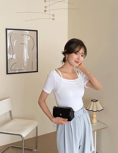 Edun T-shirt & Sleeveless Set