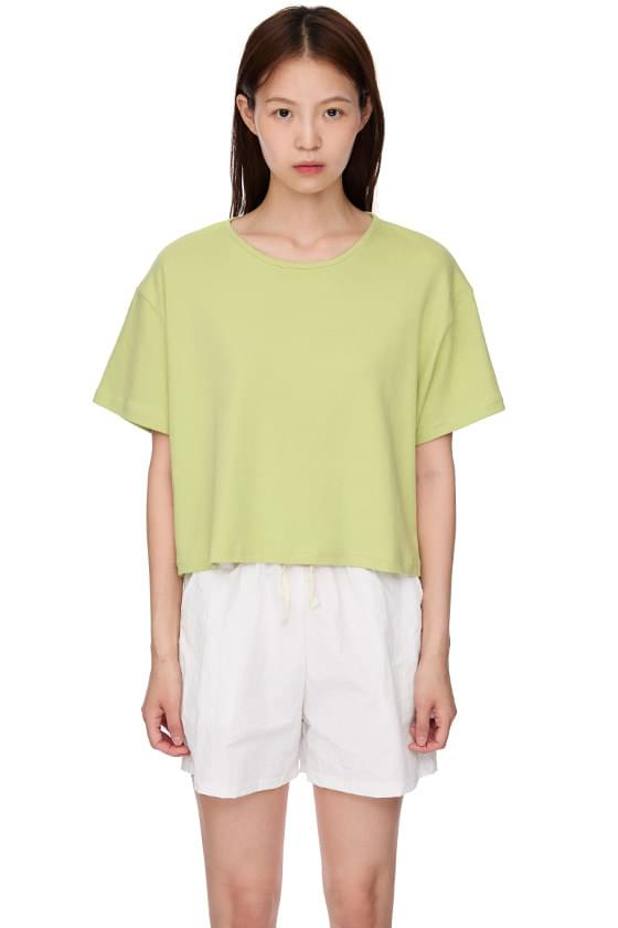 Base Cotton Short Sleeve T-shirt