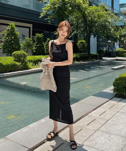 Cooling Sleeveless Dress - 3color