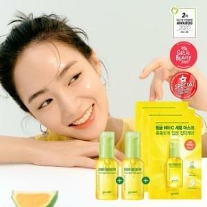 Goodal Green Tangerine Vita C Blemish Serum Plus Double Edition 30ml*2 #Skincare