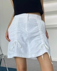 nylon string mini skirt