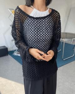 Hive Net Loose Knitwear