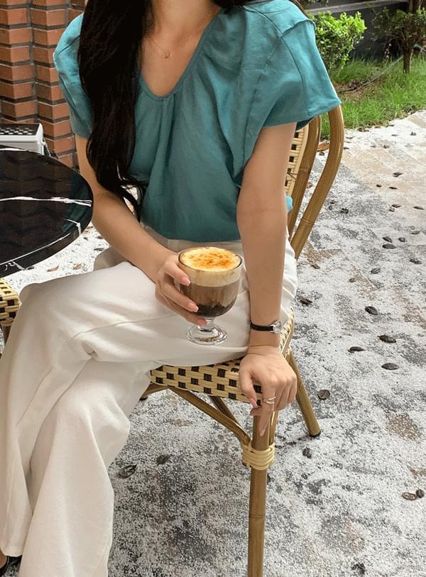 rain round blouse