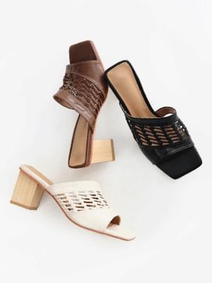 Blog Mules Slippers 7cm