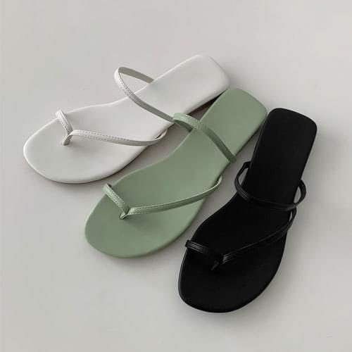 key square slippers