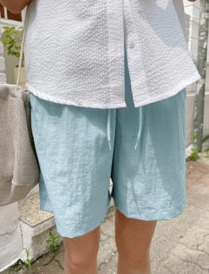 Moa Nylon Banding Short Pants