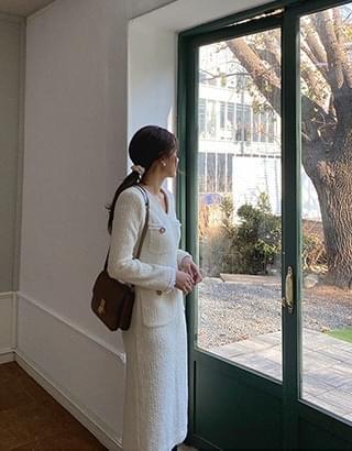 sale) Renee tweed Dress