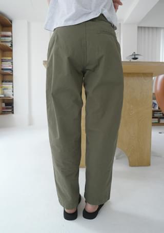 natural dried cotton pants