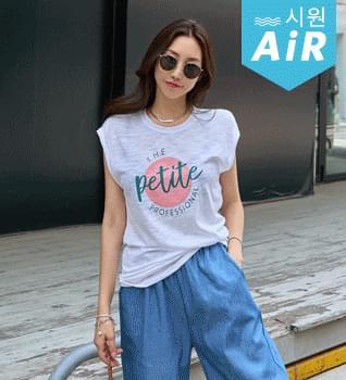 Petite Sleeveless T-shirt #109112