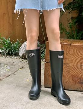 season louver rain boots
