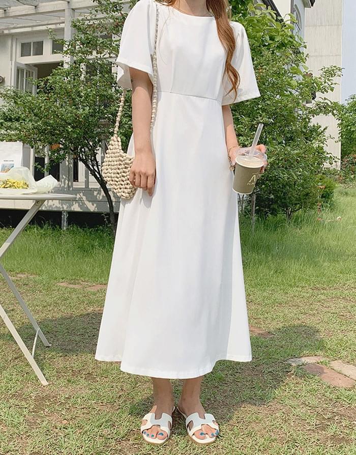 Melor Flare Basic Long Dress