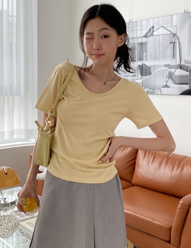 Butter You-Neck T-shirt